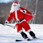 Christmas skiing