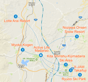 Nearby Resorts
